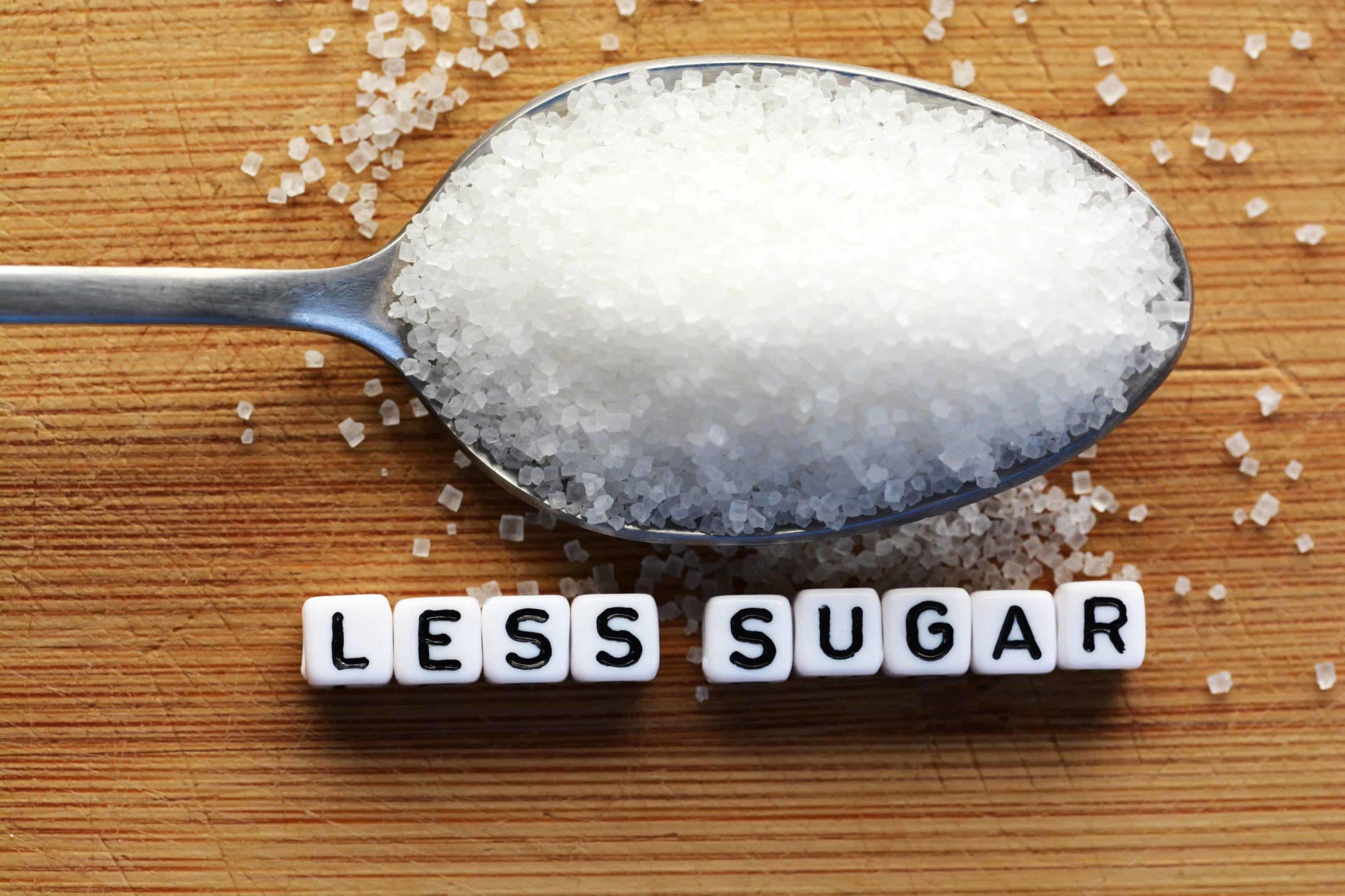 Put A Limit On The Sugar Intake