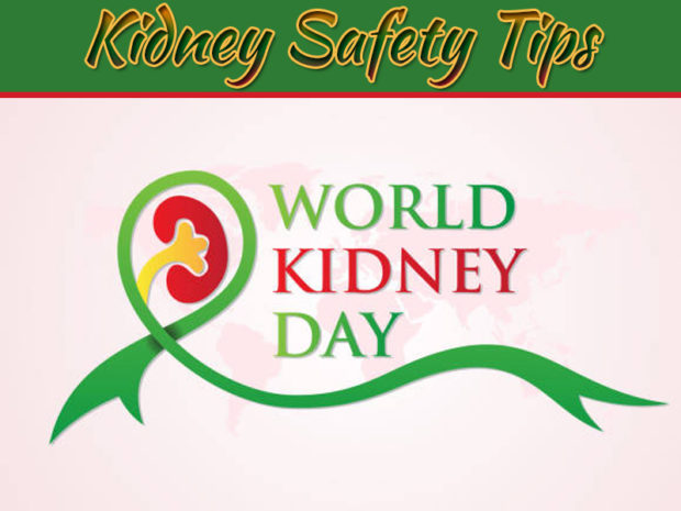 Kidney Safety Tips On This World Kidney Day 2020