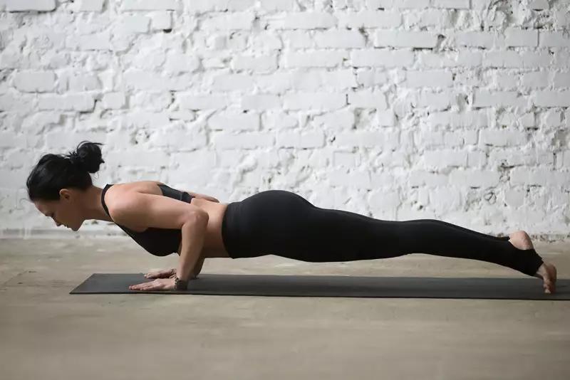 Chaturangadandasana – Plank Pose
