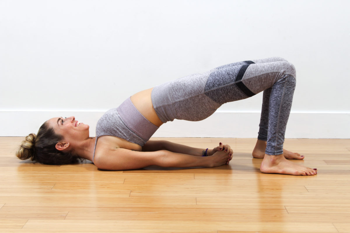 Sethu Bandha Sarvangasana – Bridge Pose