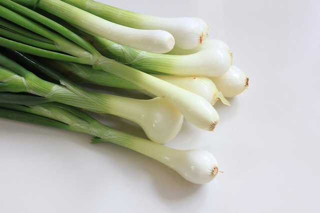 Use Of Green Onions