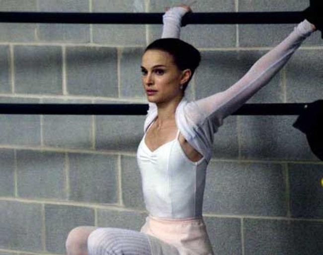 Natalie Portman Workout
