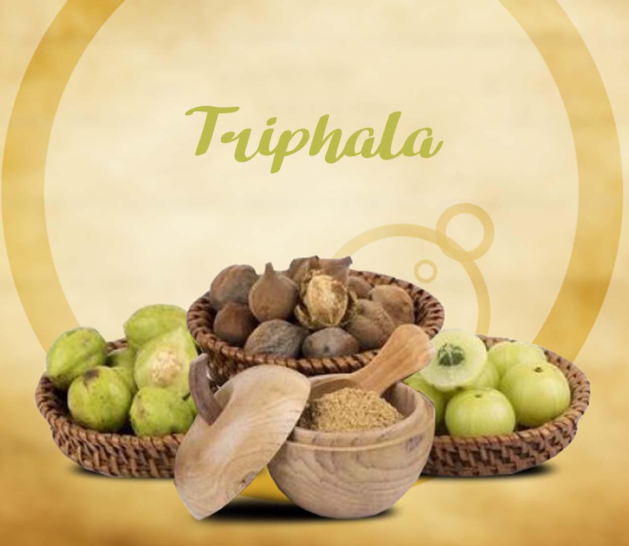 Use of Triphala