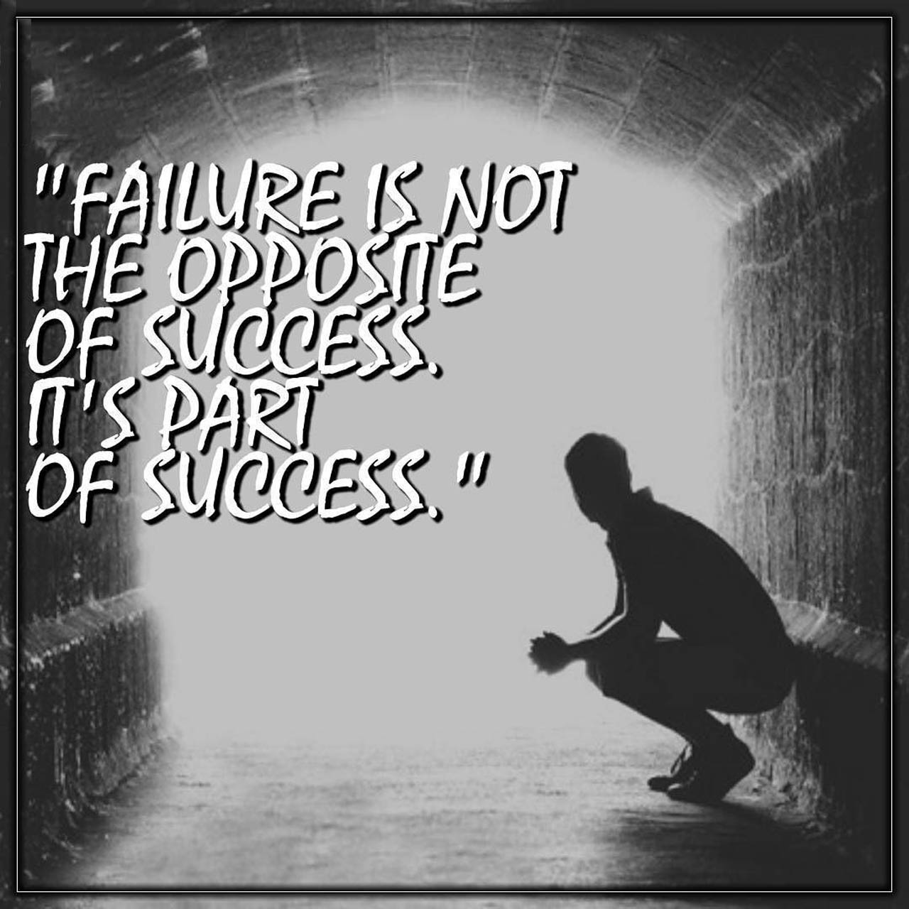 Accept Your Failures