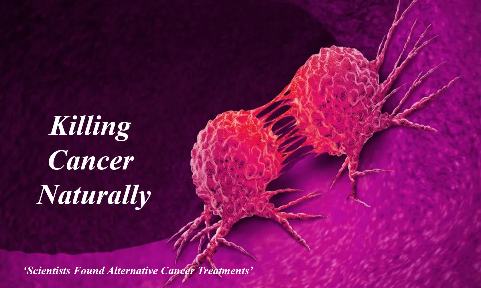 Killing Cancer Naturally: Scientists Found Alternative Cancer Treatments