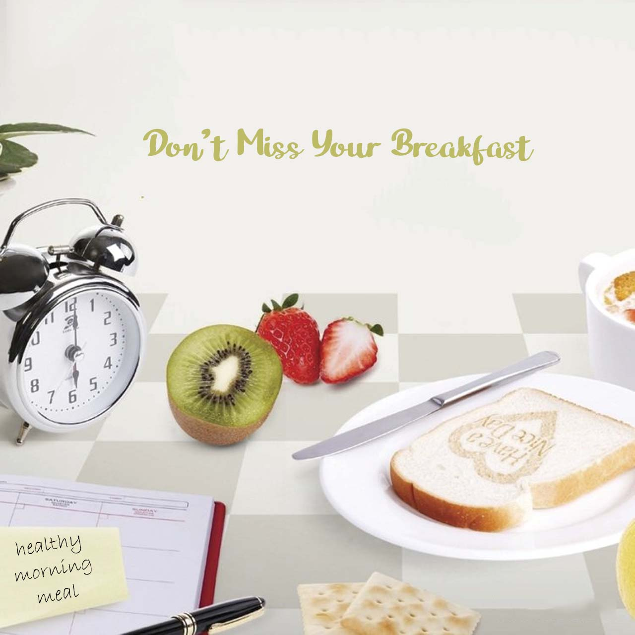 Never Miss Your Breakfast