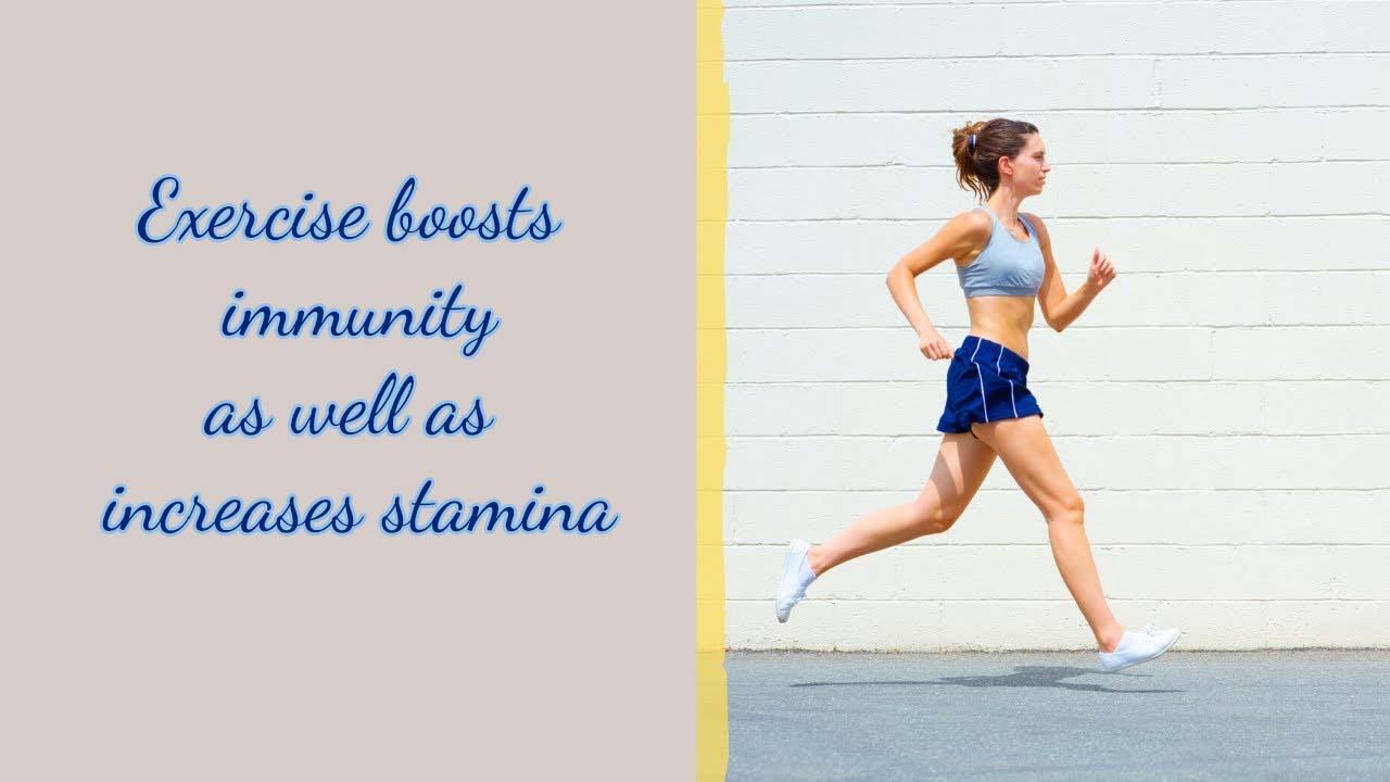 Exercise Boosts Immunity