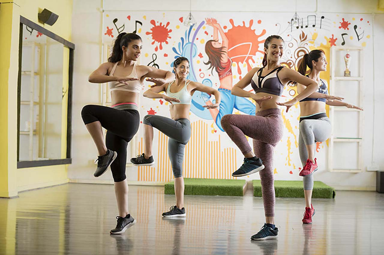 Exercise Like Jogging Or Dance Or Zumba
