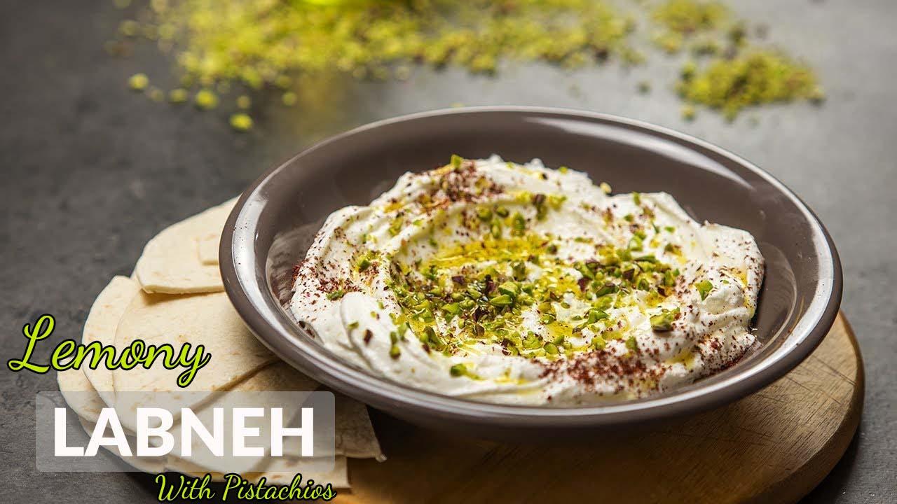 Lemony Labneh With Pistachios
