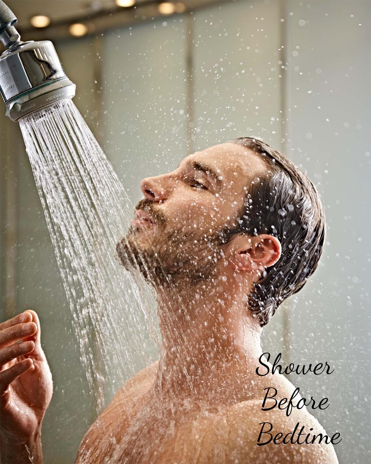 Shower Before Bedtime