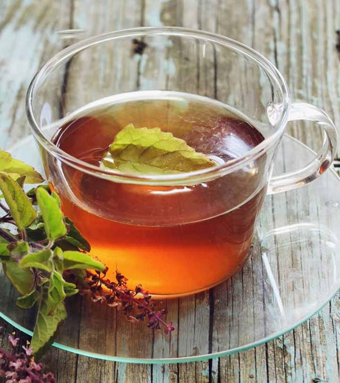 Tea Infused With Tulsi