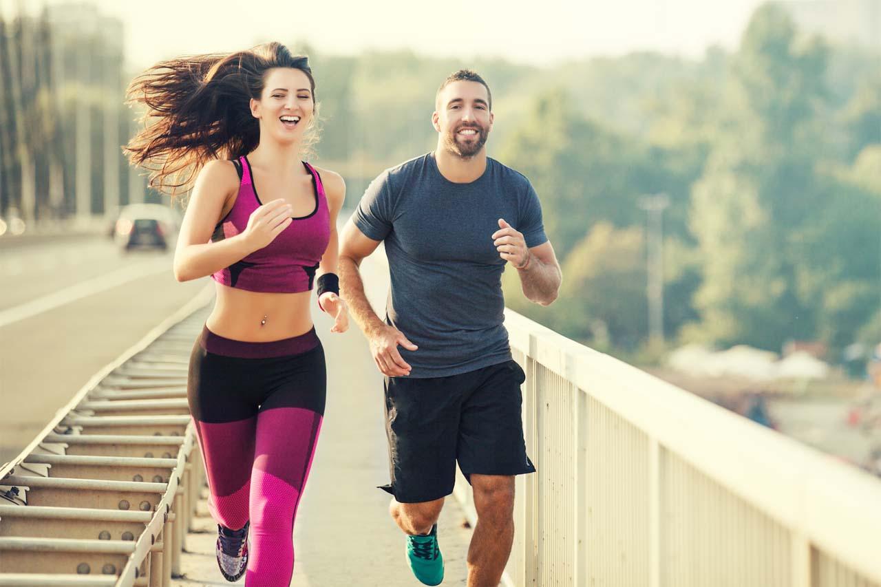 Walking Jogging