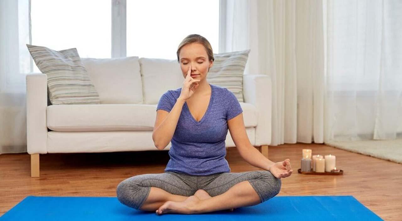 Practicing Deep Breathing