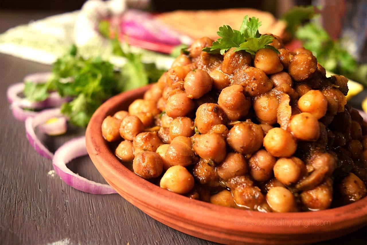 Sattvic Chana Pindi Recipe